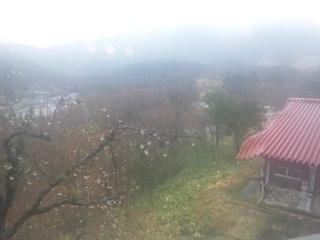 110427 津黒高原荘 大浴場.からの景色