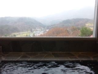 110427 津黒高原荘 露天風呂