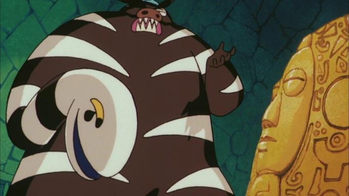 ブリブリ王国の秘宝 アナコンダ伯爵 黒ブリブリ魔人