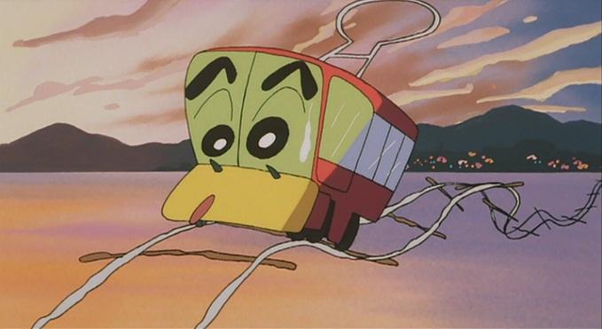 ヘンダーランドの大冒険 しんのすけチンチン電車