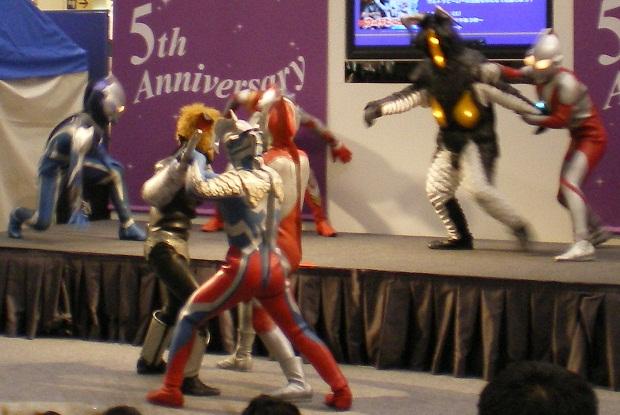 ウルトラヒーロースーパーウィーク2011 ショー