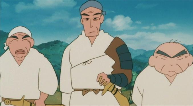 暗黒タマタマ大追跡 球由良七人衆 勘兵衛、勝四郎、七朗次