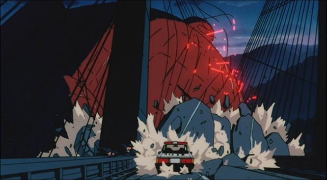 爆発!温泉わくわく大決戦 モグラロボット 破壊