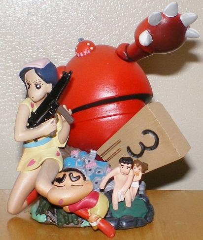 クレヨンしんちゃん 嵐を呼ぶカプセルフィギュア 爆発!温泉わくわく大決戦