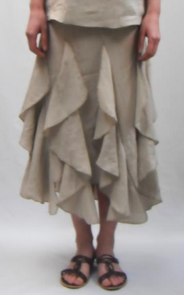 リネンスカート