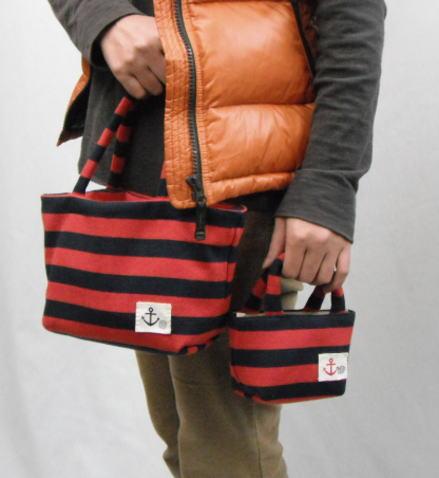 バッグインバッグにバッグインバッグ