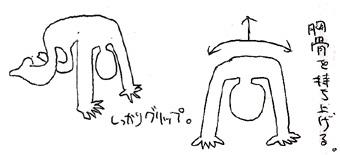 ヨガ/よつんばい