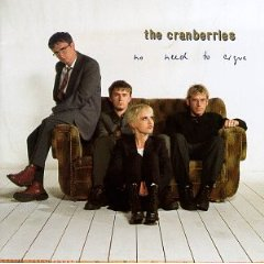 THE CRANBERRIES「NO NEED TO ARGUE」