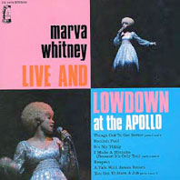 MARVA WHITNEY「LIVE AND LOWDOWN AT THE APOLLO」