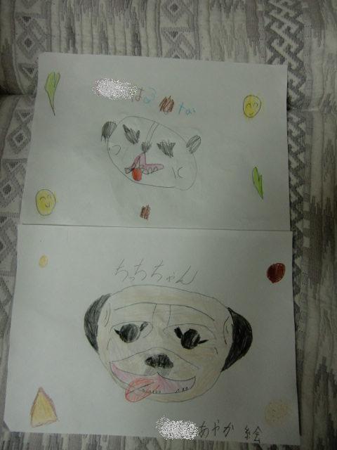 子供たちの絵、良く描けてるよね。