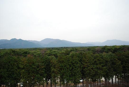 那須の山が見えるよ~