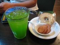 ゴーヤとウコンのジュース
