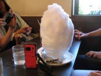 カルピスラベンダー氷