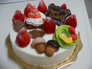 誕生日のケーキ?