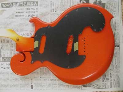 オレンジギターブラック