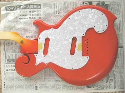 オレンジギターパール