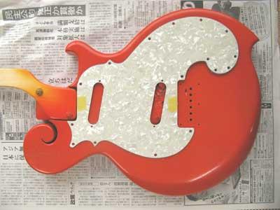 オレンジギターヴィンテージ