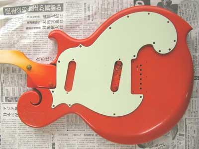 オレンジギターミントグリーン