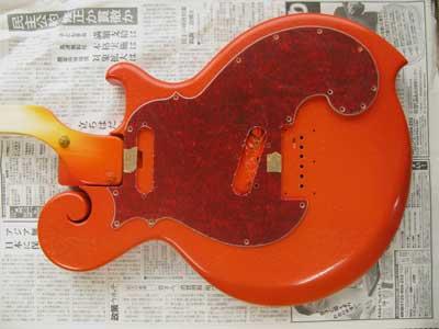 オレンジギター赤ベッコウ
