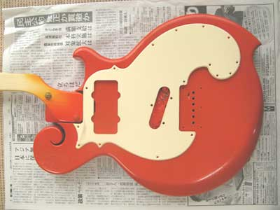 オレンジギタークリーム