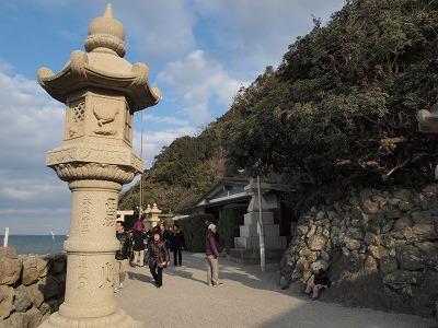 二見興玉神社入口