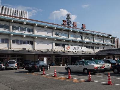 松阪駅まで戻ってきました