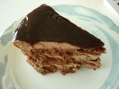 不二家 本格 生チョコケーキ(1)