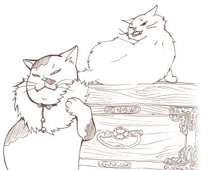 猫マフラー