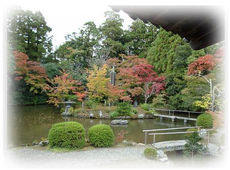 清涼寺内庭園
