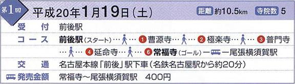 知多四国 第1回コース
