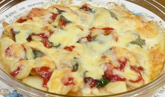 夏野菜チーズ焼き