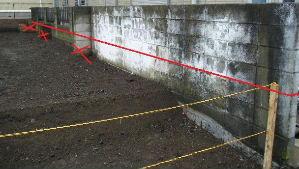 ブロック塀切断箇所1