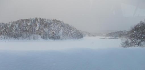 20120211_朱鞠内湖を後に