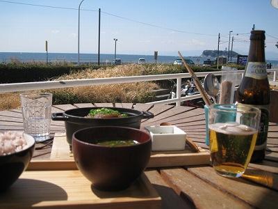 七里ガ浜でランチ
