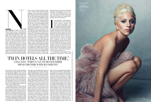 Lady Gaga - topless in Vanity Fair magazine January 2012 02