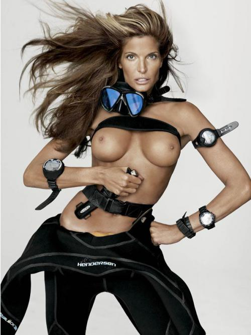 Stephanie Seymour - V Magazine - ss2012 (2)