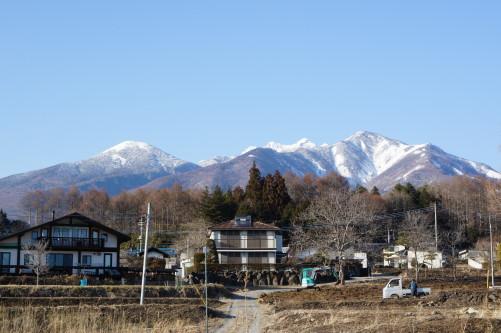 富士山 小荒間 八ヶ岳