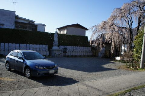 桜 福寿院 駐車場