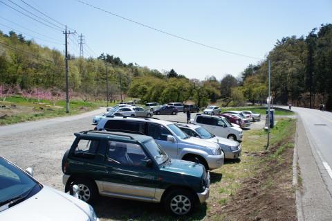 富士山 新府 駐車場