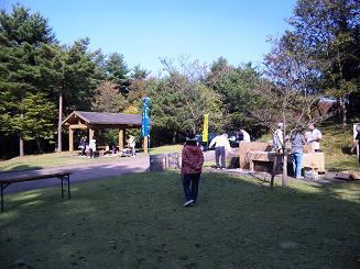 希望の丘公園バーベキュー