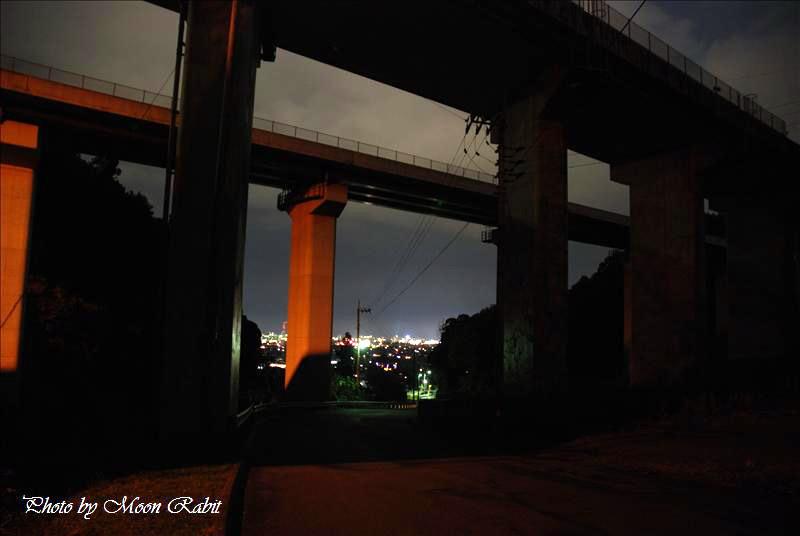 西条市 市民の森からの夜景 2007.12.10