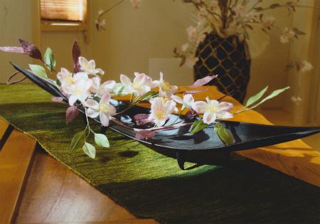 ブログ和装の桜