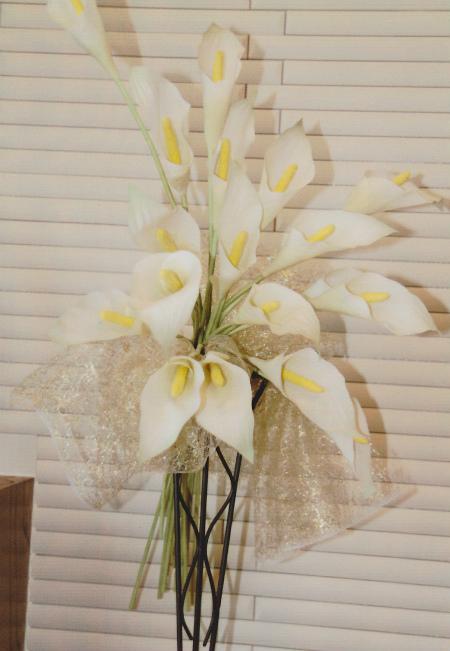 ブログカラーの花束