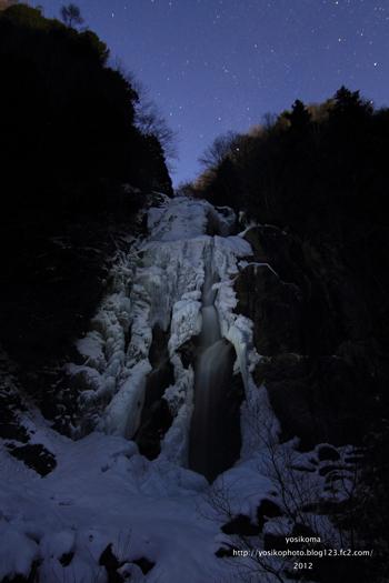 月明かりの滝2
