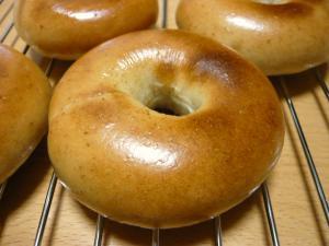 柿酵母ベーグル1
