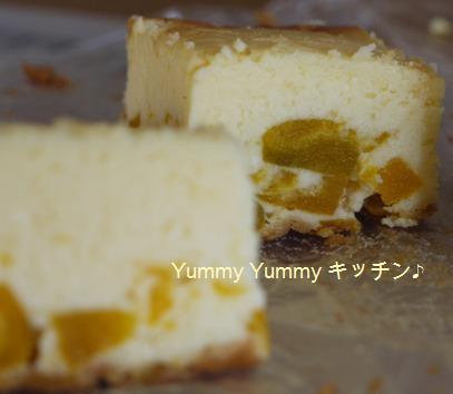 かぼちゃチーズケーキ☆