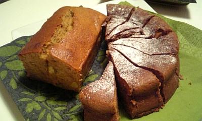 Nさんのガトーショコラとパウンドケーキ♪