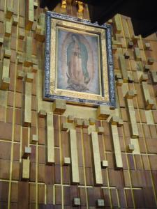 グアダルーペの聖母マリア遠景