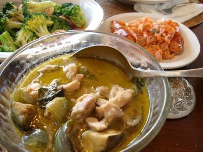 thai dinner at seattle