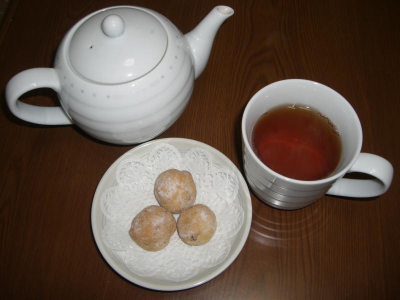 ブックカバーとお茶の交換会♪⑧